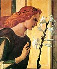 Giovanni Bellini Angel Announcing [detail] painting